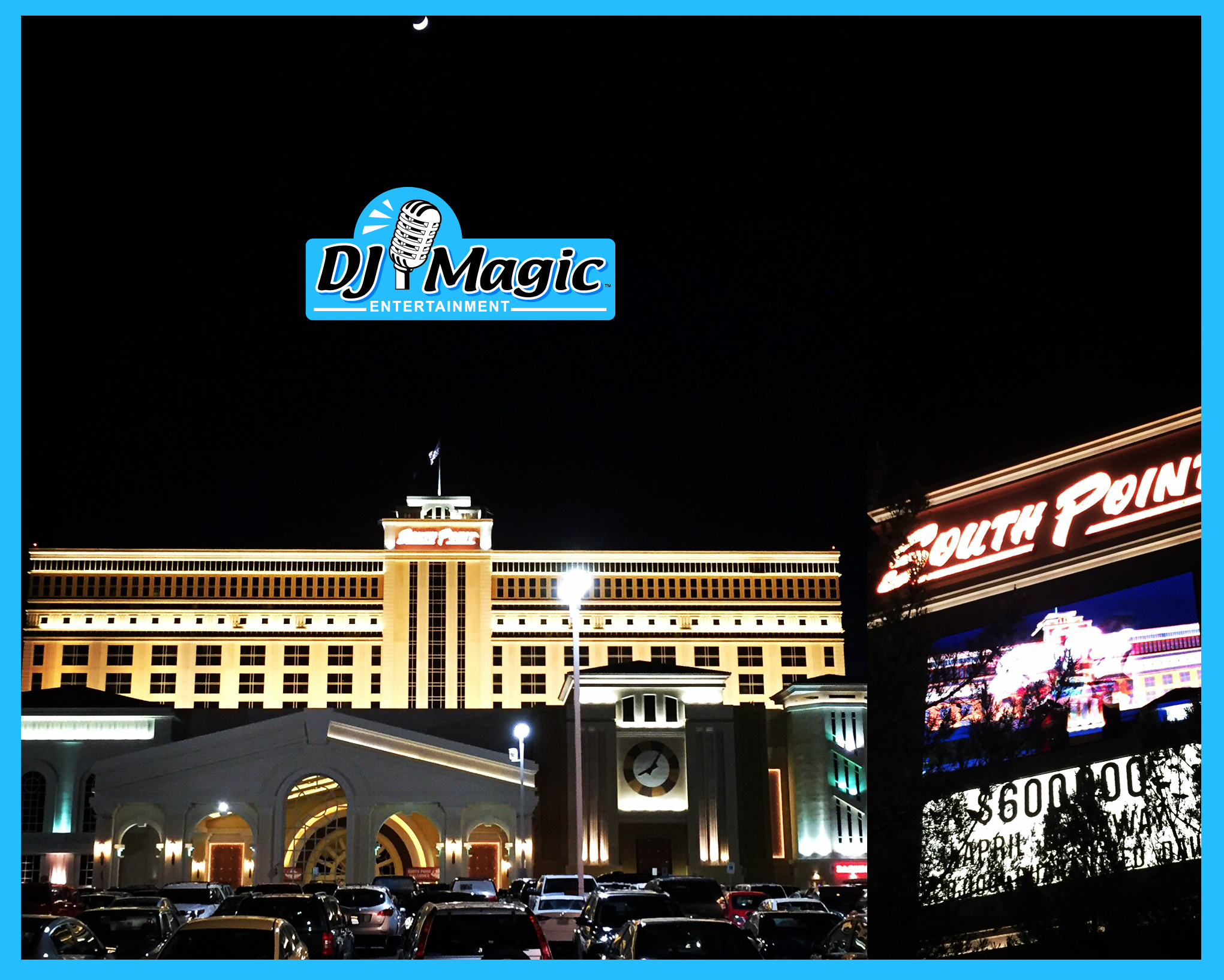 DJ Magic Photo Booth services heads to Las Vegas.